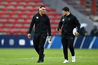 Selevasio Tolofua and Julien Marchand of Toulouse look on prior to the match. Heineken Champions Cup match, between Stade Toulousain and Bath Rugby on January 20, 2019 at the Stade Ernest Wallon in Toulouse, France. Photo by: Patrick Khachfe / Onside Images
