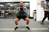 Cameron Carter-Vickers of Swansea City in the gym during the Swansea City Training at The Fairwood Training Ground, Swansea, Wales, UK. Tuesday 22 January 2019