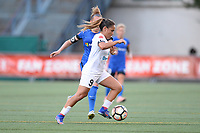Seattle, WA - Friday June 23, 2017: Lo'eau LaBonta during a regular season National Women's Soccer League  (NWSL) match between the Seattle Reign FC and FC Kansas City at Memorial Stadium.