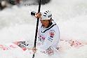 Kazuki Yazawa (JPN), APRIL 15, 2012 - Canoeing : 2012 Canoeing NHK Cup Slalom Competitions, Men's Kayak Single race semi final at Ida River, Toyama, Japan. (Photo by Yusuke Nakanishi/AFLO SPORT) [1090]