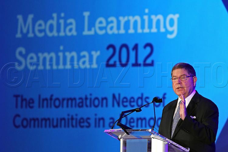 Knight Foundation's Media Learning Seminar 2012 at the Hotel InterContinental,Miami, Florida on Monday, February 20, 2012.