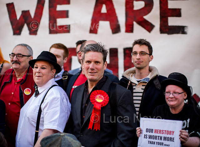 Sir Keir Starmer KCB, QC (British barrister; he was the Director of Public Prosecutions and the Head of the Crown Prosecution Service from 2008 to 2013; Labour MP Candidate for Holborn and St Pancras).<br />