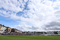 General view of the ground during Yorkshire CCC vs Essex CCC, Specsavers County Championship Division 1 Cricket at Scarborough CC, North Marine Road on 7th August 2017