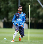Gedion Zelalem spending his first morning training with his new team mates