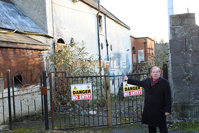 Frank Godfrey with Derelict and Dangerous Buildings...Photo NEWSFILE/Jenny Matthews..(Photo credit should read Jenny Matthews/NEWSFILE)