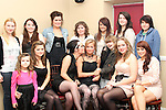 Ella Wilde and friends at her 18th in Harrys...(Photo credit should read Jenny Matthews www.newsfile.ie)....This Picture has been sent you under the conditions enclosed by:.Newsfile Ltd..The Studio,.Millmount Abbey,.Drogheda,.Co Meath..Ireland..Tel: +353(0)41-9871240.Fax: +353(0)41-9871260.GSM: +353(0)86-2500958.email: pictures@newsfile.ie.www.newsfile.ie.