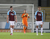 Burnleys players look dejected<br /> <br /> Photographer Mick Walker/CameraSport<br /> <br /> The Carabao Cup Round Three   - Burton Albion  v Burnley - Tuesday  25 September 2018 - Pirelli Stadium - Buron On Trent<br /> <br /> World Copyright © 2018 CameraSport. All rights reserved. 43 Linden Ave. Countesthorpe. Leicester. England. LE8 5PG - Tel: +44 (0) 116 277 4147 - admin@camerasport.com - www.camerasport.com