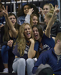 Nevada fans during the first half of their NCAA college basketball game against California Baptist in Reno, Nev., Monday, Nov. 19, 2018. (AP Photo/Tom R. Smedes)