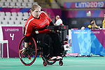 Alison Levine competes in Boccia at the 2019 ParaPan American Games in Lima, Peru-29aug2019-Photo Scott Grant