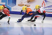 "SHORT TRACK: MOSCOW: Speed Skating Centre ""Krylatskoe"", 13-03-2015, ISU World Short Track Speed Skating Championships 2015, Lara VAN RUIJVEN (#052 | NED), ©photo Martin de Jong"