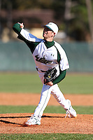 February 28, 2010:  Pitcher Jimmy Moran of the South Florida University Bulls during the Big East/Big 10 Challenge at Raymond Naimoli Complex in St. Petersburg, FL.  Photo By Mike Janes/Four Seam Images