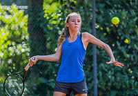 Hilversum, Netherlands, August 7, 2017, National Junior Championships, NJK, Sanne Schalekamp<br /> Photo: Tennisimages/Henk Koster