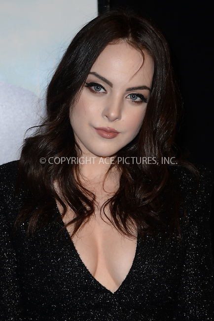 WWW.ACEPIXS.COM<br /> March 15, 2016 New York City<br /> <br /> Elizabeth Gillies attending the 'My Big Fat Greek Wedding 2' New York premiere at AMC Loews Lincoln Square 13 theater on March 15, 2016 in New York City.<br /> <br /> <br /> <br /> Credit: Kristin Callahan/ACE Pictures<br /> Tel: (646) 769 0430<br /> e-mail: info@acepixs.com<br /> web: http://www.acepixs.com