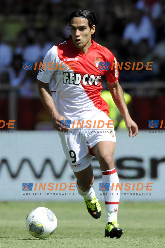 Falcao (ASM)<br /> Football Calcio 2013/2014 <br /> Francia Ligue 1<br /> Foto Panoramic / Insidefoto