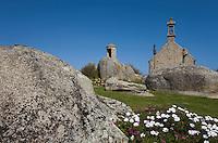 Europe/France/Bretagne/29/Finistère:/Brignogan-Plage: la chapelle Pol située vers la pointe de Pontsuval