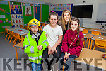 NEW SCHOOL: Cian Fitzgerald, Molly O'Neill, Ciara Fitzgerald and Kelly Fitzgerald checking out the new school in Blennerville which opens today (Thursday).