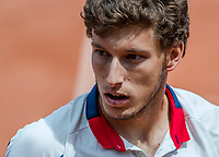 Paris, France, 4 June, 2017, Tennis, French Open, Roland Garros, Pablo Carreno  Busta (ESP)<br /> Photo: Henk Koster/tennisimages.com