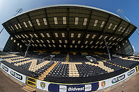 General view of Meadow Park during the Sellebrity Soccer (Celebrity) Event in aid of Capital FM's Charity Global's Make Some Noise at Meadow Lane, Nottingham, England on 4 October 2015. Photo by Andy Rowland.
