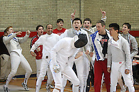 120116 University of Pennsylvania - Men's Fencing