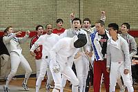 120116 University of Pennsylvania - Men's Fencing