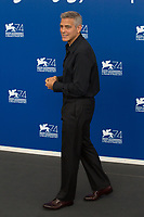 George Clooney at the &quot;Suburbicon&quot; photocall, 74th Venice Film Festival in Italy on 2 September 2017.<br /> <br /> Photo: Kristina Afanasyeva/Featureflash/SilverHub<br /> 0208 004 5359<br /> sales@silverhubmedia.com