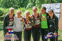 Led by Elise Marker's runner-up finish,  the Villa Duchesne girls took 3rd in the Varsity 3A girls race with a total of 102 points at the 2013 Hancock Cross Country Invitational.