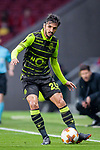 Bryan Ruiz of Sporting CP in action during the UEFA Europa League quarter final leg one match between Atletico Madrid and Sporting CP at Wanda Metropolitano on April 5, 2018 in Madrid, Spain. Photo by Diego Souto / Power Sport Images
