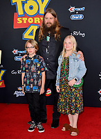 "LOS ANGELES, USA. June 12, 2019: Chris Stapleton & Guests at the world premiere of ""Toy Story 4"" at the El Capitan Theatre.<br /> Picture: Paul Smith/Featureflash"