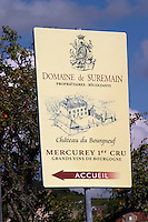 domaine de suremain ch du bourgneuf mercurey burgundy france