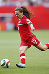 Allysha Chapman (CAN), JUNE 21, 2015 - Football / Soccer : <br /> FIFA Women's World Cup Canada 2015 Round of 16 match between Canada 1-0 Switzerland at BC Place Stadium, <br /> Vancouver, Canada. (Photo by Yusuke Nakansihi/AFLO SPORT)
