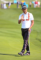 160212 Japan's Hiroshi Iwata leading the tournament after Friday's Second Round at The AT&T National Pro Am at The Monterey Peninsula Country Club in Carmel, California. (photo credit : kenneth e. dennis/kendennisphoto.com)