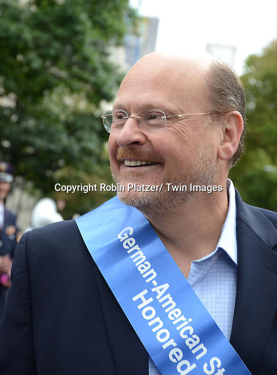 Joe Lhota attends the Steuben Day Parade on Fifth Avenue on September 21, 2013 in New York City.