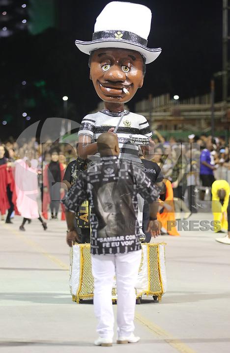 SAO PAULO, SP, 13.012018 - CARNAVAL-SP - Ensaio técnico da escola de samba Vai Vai para o Carnaval 2018, no Sambódromo do Anhembi em São Paulo (SP), neste sábado (13). (Foto: Paulo Guereta/Brazil Photo Press)