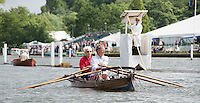 Henley on Thames. United Kingdom. General Views. Messing about on the River, Skiff.  30.06.2016. 2016 Henley Royal Regatta, Henley Reach.   [Mandatory Credit Peter Spurrier/ Intersport Images]