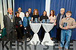 Launching the Thursday Thursday Night Writers book in the County Library on Friday night.<br /> L to r: Cllr Sam Locke (Deputy Mayor), Cristina Aguilera, Ciara Dennehy, Martin O'Brien, Rory Kirby, Barbara Byar, Davena O'Neill, Ashling Dennehy, Edward Schmidt and James Clear