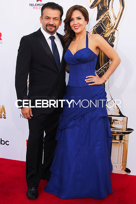 PASADENA, CA, USA - OCTOBER 10: David Barrera, Maria Canals Barrera arrive at the 2014 NCLR ALMA Awards held at the Pasadena Civic Auditorium on October 10, 2014 in Pasadena, California, United States. (Photo by Celebrity Monitor)