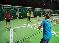 12-02-14, Netherlands,Rotterdam,Ahoy, ABNAMROWTT, Kids day <br /> Photo:Tennisimages/Henk Koster