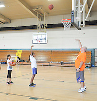 The Harker School - Harker Summer Sports Camp - Basketball G4-8 Coed camp - Photo by Kyle Cavallaro