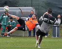 2015/03/04 Udinese Allenamento