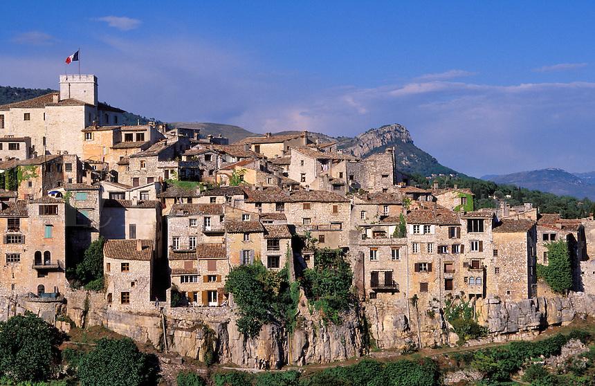 Tourrette-sur-Loup, Alpes Maritimes,  Provence, France.