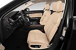 Front seat view of 2019 Audi A8-L - 4 Door Sedan Front Seat  car photos