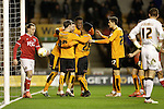 Nathan Byrne (25) celebrates scoring the first goal of the game for Wolves - Football - Wolverhampton Wanderers vs Bristol City - Molineux Wolverhampton - Sky Bet Championship - 8th March 2016 - Season 2015/2016 - Picture Malcolm Couzens/Sportimage