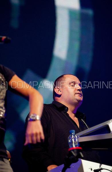Belgian dance act Milk Inc's Eclipse concert in the Sportpaleis, Antwerp (Belgium, 24/09/2010)