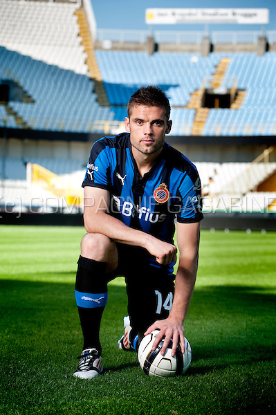 Danish football player Jim Larsen (Belgium, 24/07/2012)