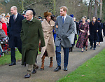 Meghan Markle Joins Royals For Christmas At Sandringham