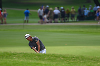 Roger Sloan (CAN) hits his approach shot on 2 during round 3 of the 2019 Charles Schwab Challenge, Colonial Country Club, Ft. Worth, Texas,  USA. 5/25/2019.<br /> Picture: Golffile | Ken Murray<br /> <br /> All photo usage must carry mandatory copyright credit (© Golffile | Ken Murray)