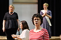 """Cardiff, UK. 11.05.2018. Welsh National Opera's """"Rhondda Rips It Up!"""" in rehearsal, at the Wales Millenium Centre, Cardiff. Photograph © Jane Hobson."""