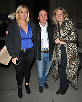 Erin Jones, Kenney Jones and Jayne Andrew at the &quot;The Adoration Trilogy: Searching For Apollo&quot; by Alistair Morrison opening gala, Victoria &amp; Albert Museum, Cromwell Road, London, England, UK, on Monday 13 November 2017.<br /> CAP/CAN<br /> &copy;CAN/Capital Pictures