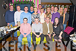 Pictured at the BNI Christmas party in the Ross Hotel, Killarney on Friday night were Dermot Cronin, Colm Kelliher, Donie Moynihan, Mary B Teahan, Brendan Harty, Richard Walsh, Keith McMahon, John McEnery, Elaine Kelliher, Dan Griffin, Melissa Perry, Paddie Keogh, Tim O'Sullivan, Hazel O'Sullivan, Michael Coghlan and Colm Dunlea.