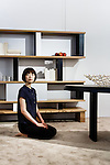 Tokyo, June 26 2013 -  Furniture designed by Charlotte Perriand at Cassina Tokyo.
